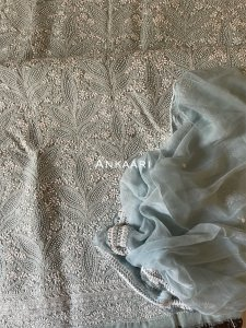 Swiss voile suit fabric